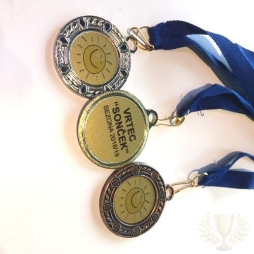 medalje vrtec
