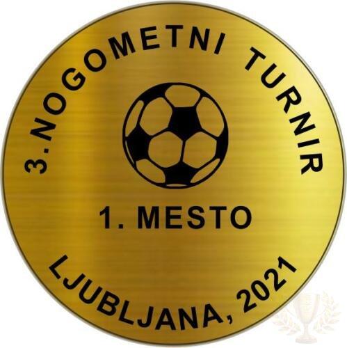 nogomet medalja